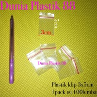 100pc PLASTIK KLIP clip segel emas obat serbaguna KECIL MINI 3x5CM