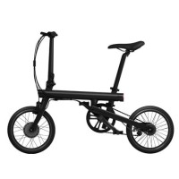 Xiaomi QiCycle Sepeda Elektrik Lipat Smart Bicycle - Black