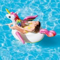 Pelampung Unicorn Ride On Floaties 57561 INTEX
