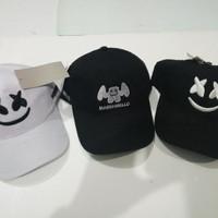 TOPI BASEBALL BORDIR MARSHMELLO / TOPI TUMBLR CAP MURAH