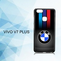 Casing Hardcase HP Vivo V7 Plus Carbon Fiber Bmw Logo X4960