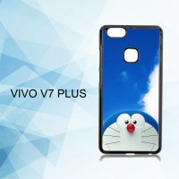 Casing Hardcase HP Vivo V7 Plus Doraemon Stand By X4291