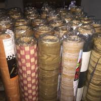 Karpet Plastik Untuk Lantai/Tutup Meja, Jual per Golong 17m