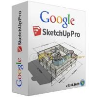 Google SketchUp Pro 2016 w/ V-ray