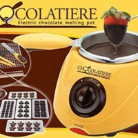 Chocolate Fondue Maker Machine Hot Melter Alat Mesin Leleh Cair Coklat