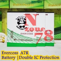 Baterai Cross Evercoss A7R Rakkipanda Double Power Protection