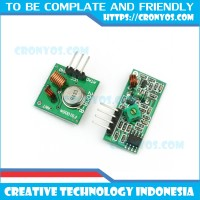 433 Mhz RF Wireless Recaiver Transmitter Module