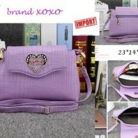 tas import BRAND XOXO type 3449 purple