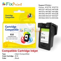 Cartridge Tinta Canon PG 810 PG810 PG-810 Black, Printer iP2770 MP287