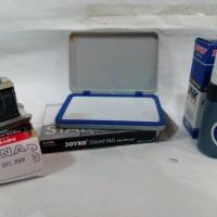 paket murah 3 benda: stempel LUNAS + tinta + bak (untuk bon) kwitansi