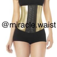 Miracle Waist Trainer size S GOLD/Waist Shaper/ Korset Pelangsing