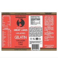 [Promo] Great Lakes Beef Gelatin and Collagen Joint Care - 454g