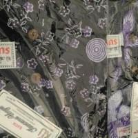 Jual EKSKLUSIF daster pendek jumbo L5 batik kencana ungu MURAH Murah