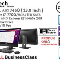 DELL AIO 7450 ( 23.8 Inch ) Core i7-7700 TOUCH SCREEN