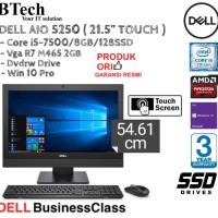 DELL AIO 5250 ( 21.5 Inch ) Core i5-7500 SSD TOUCH DISPLAY