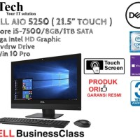 DELL AIO 5250 ( 21.5 Inch ) Core i5-7500 TOUCH DISPLAY