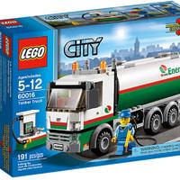 Lego City 60016 Tanker Truck (Rare n retired)