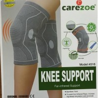 Knee Support / Deker Lutut / Carezoe / Bamboo / Sinar infrared / 4516