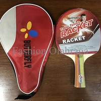 LIMITED EDITION Bet tenis meja pingpong Butterfly racket full cover MU