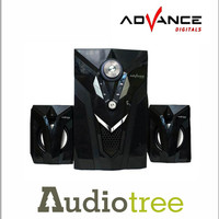 Speaker Aktif ADVANCE M10 BT bluetooth,TOko Speaker Komputer Lepto