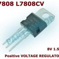 7808 LM7808 L7808 L7808CV Positif Voltage Regulator 8v TO-220
