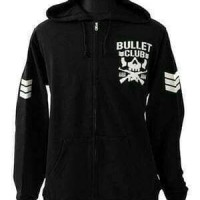 Zipper Hoodie Sweater Bullet Club Premium Quality - Abigail Merch