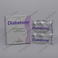Diabetone - 30 Kapsul (Vitamin & Mineral untuk Diabetes)