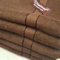 terbaik Handuk Chalmer Coklat 70 x140 cm / Handuk Mandi Dewasa / Towel
