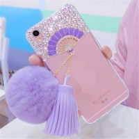 TPU FAN DIAMOND Vivo V5 Lite V5s Y67 kipas soft case cover casing hp