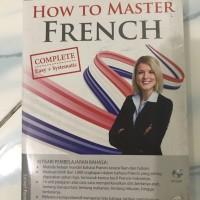 Buku Bahasa Perancis How to Master French + CD