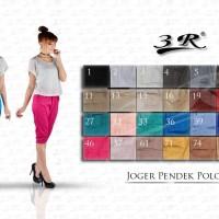 CELANA PENDEK JOGGER 3R 7/8 SIZE STD(M,L)-XL-XXL-XXXL