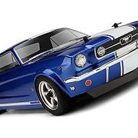 HPI SPRINT 2 DRIFT SPORT NISSAN 104926 FORD 1966 MUSTANG GT COUPE BODY