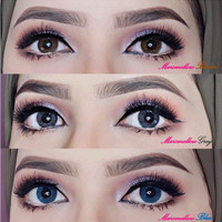 Softlens marshmallow SEPASANG BARBIE EYES