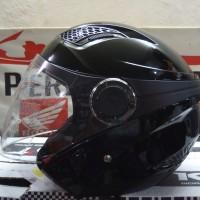 HELM HALFFACE ZEUS 610 BLACK