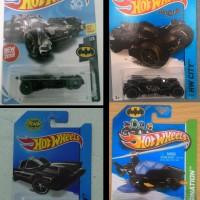 Hot Wheels - Batmobile - Justice League 2018 Set of 4