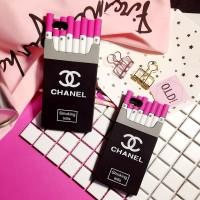CASE Casing Chanel Fashion iPhone 5 / 5S / SE / 6 / 6S 3D Sillicone