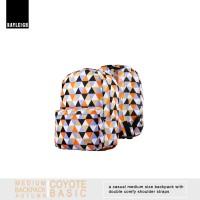 Tas Backpack COYOTE series (warna monoton) AUTUMN
