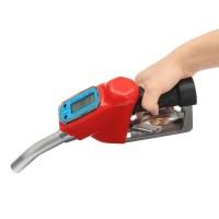 1'' Nozzle Dispenser Dengan Digital Flow Meter Fuel Gasoline