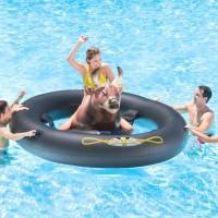 Inflatabull Bull-Riding Giant One Ride One Swimming Pool  INTEX 56280