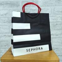 Sephora paper bag kantong belanja kosmetik