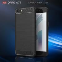 FIBER LINE Oppo F5 - A71 spigen like full cover case casing carbon hp