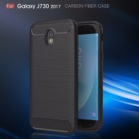 FIBER LINE Samsung Galaxy J3 J5 J7 Pro 2017 cover case casing carbon