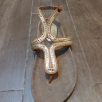 sandal carvil kulit gesper