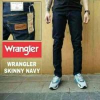 Big Size Skinny Celana Jeans Pria Wrangler Grade Ori