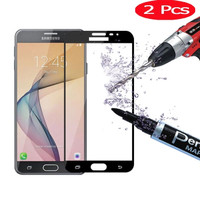 Tempered Glass FULL COLOUR screen for SAMSUNG galaxy J7 CORE new