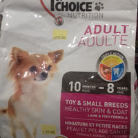 1st Choice Dog Food Adult Toy & Small Breed 2.72 kg