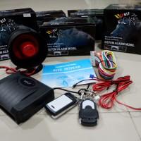 Alaram / Alarm mobil universal merk WOLF / car alarm system tuk tuk
