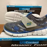 Sepatu Skechers Anak Cowo Model Slip On size 35