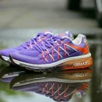Free Bonus !!! Sepatu Nike Airmax Running 2015 Women - Purple Grey