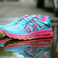 Free Bonus !!! Sepatu Nike Airmax Running 2015 Women - Tosca Pink